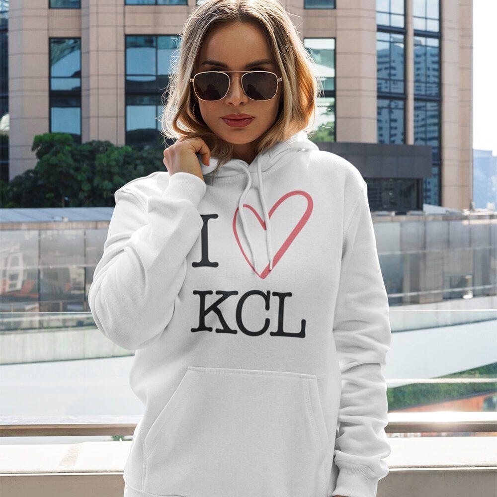 Ladies I Love KCL Hoodie