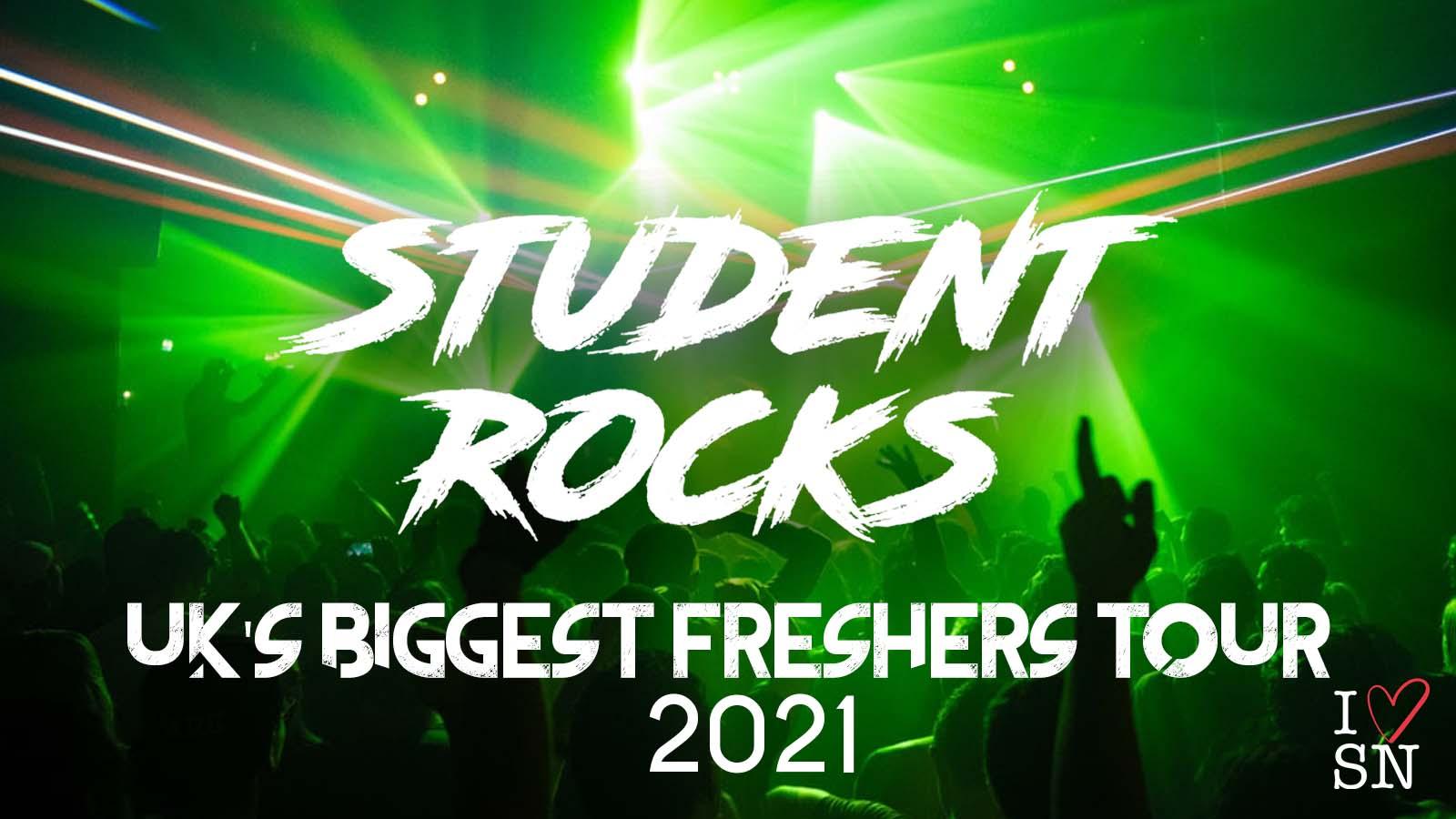 Student Rocks Edinburgh