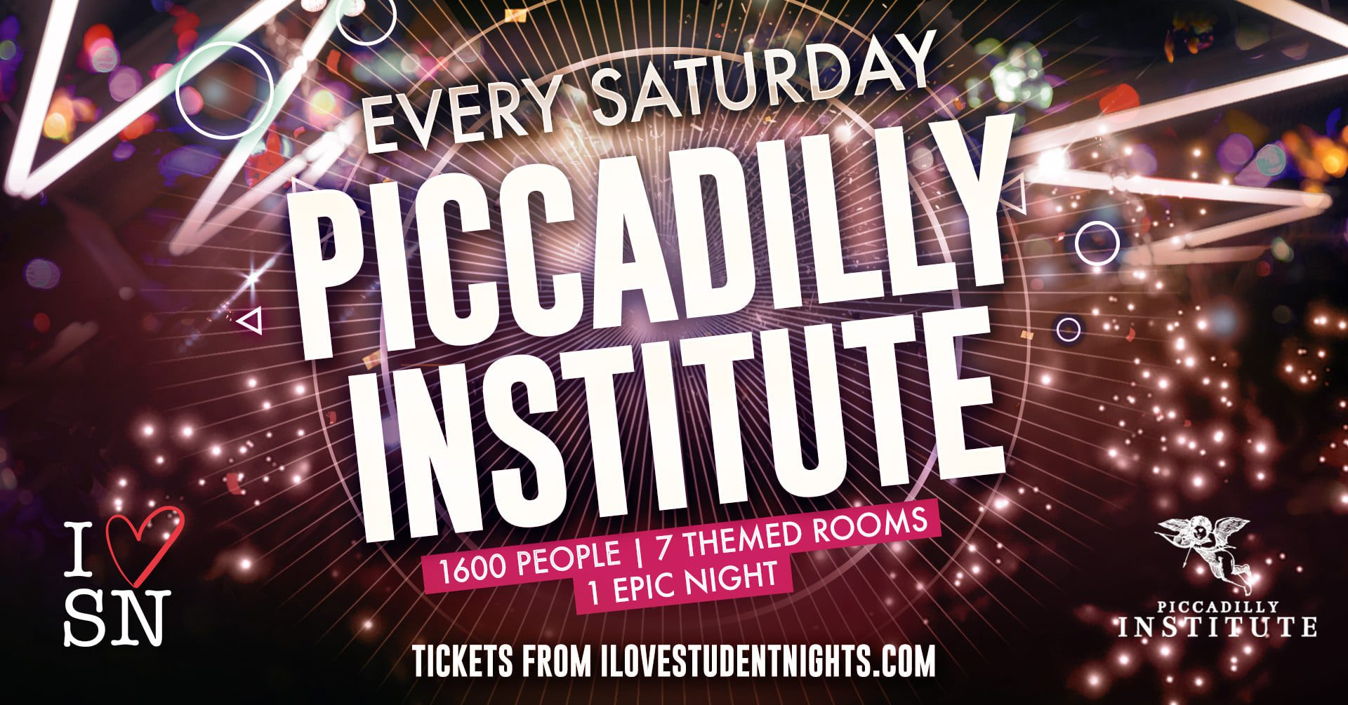 Piccadilly Institute every Saturday