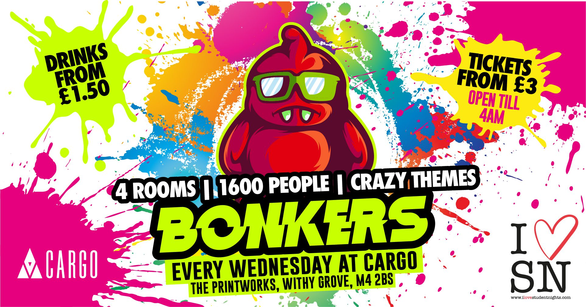 Bonkers Manchester