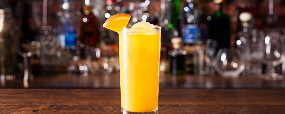 Refreshing Vodka OJ Screwdriver Cocktail