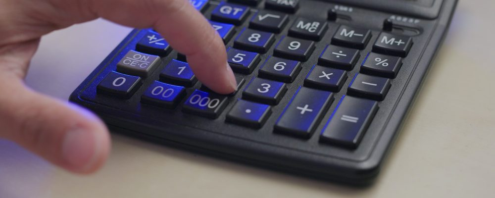 Use of calculator at home